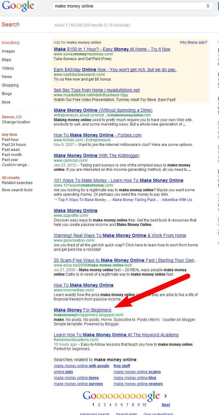 make money writing online content